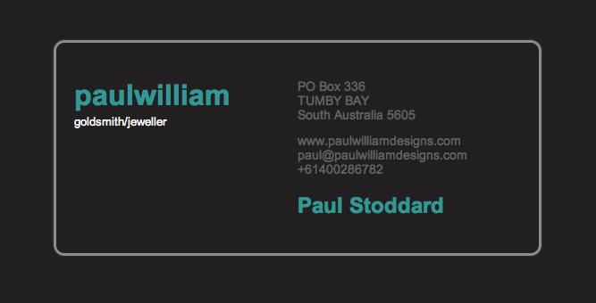 Paul William Jewellery Designs