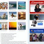 Surfer Mag Photo Layout & Advertising