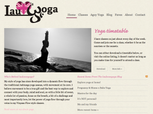 Lauloves Yoga Home Page