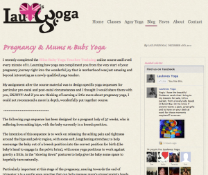 Lauloves Yoga Inner Page