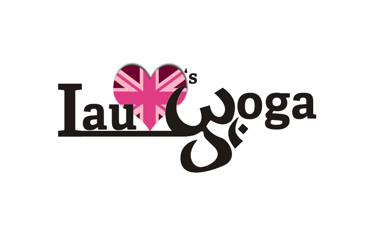 Lauloves Yoga logo Design