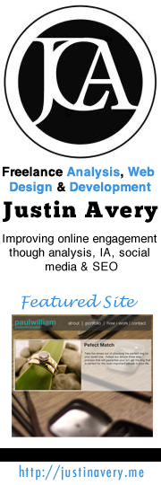 Justin Avery Design Facebook Brand