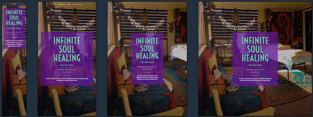 Infinite Soul Healing Home Page