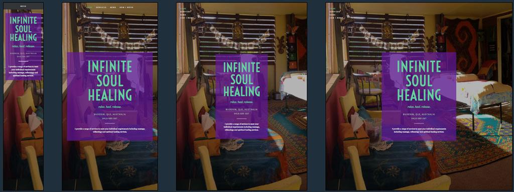Infinite Soul Healing Home Page