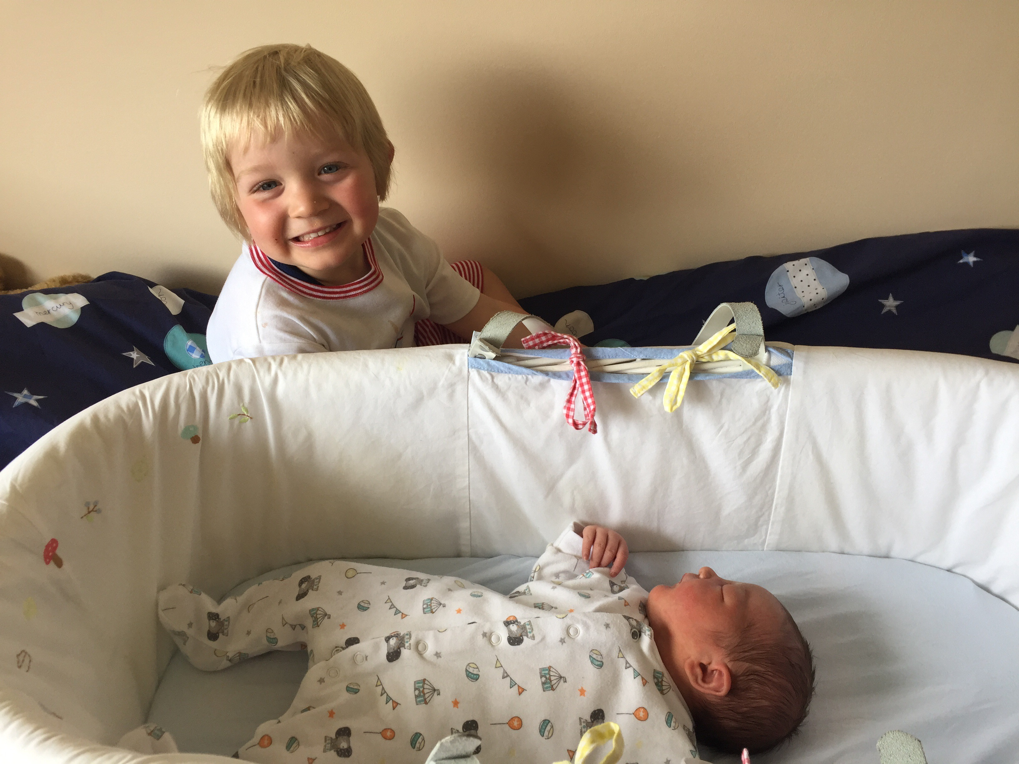 big brother and baby sister